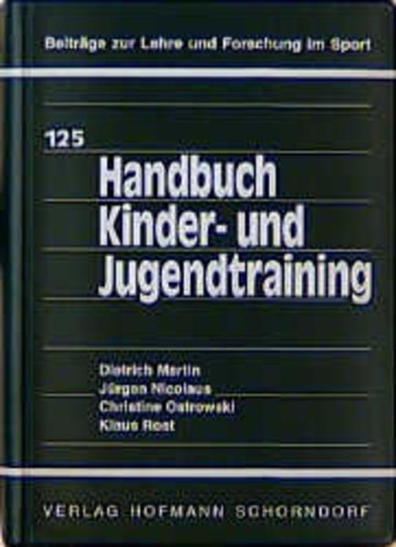 Handbuch Kinder- und Jugendtraining als Buch