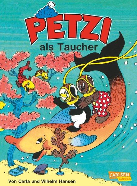 Petzi 12. Petzi als Taucher als Buch