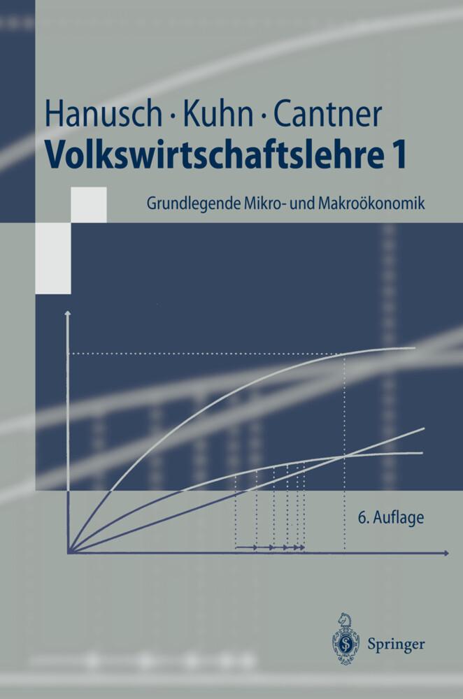 Volkswirtschaftslehre 1. Grundlegende Mikro- und Makroökonomik als Buch
