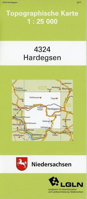 Hardegsen 1 : 25 000 als Buch