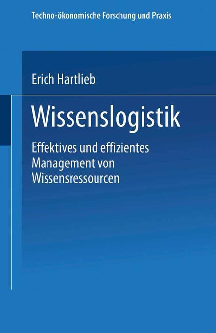 Wissenslogistik als Buch