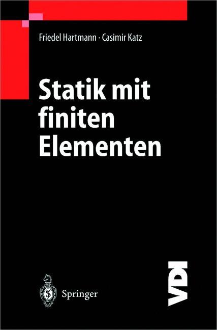 Statik mit finiten Elementen als Buch
