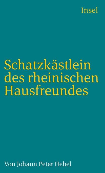 Schatzkästlein des rheinischen Hausfreundes als Taschenbuch