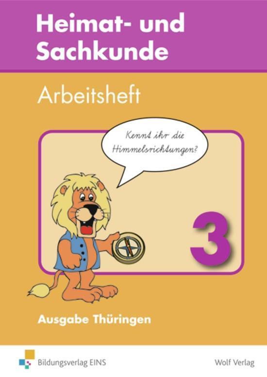 Heimat- und Sachkunde 3. Arbeitsheft. Thüringen als Buch