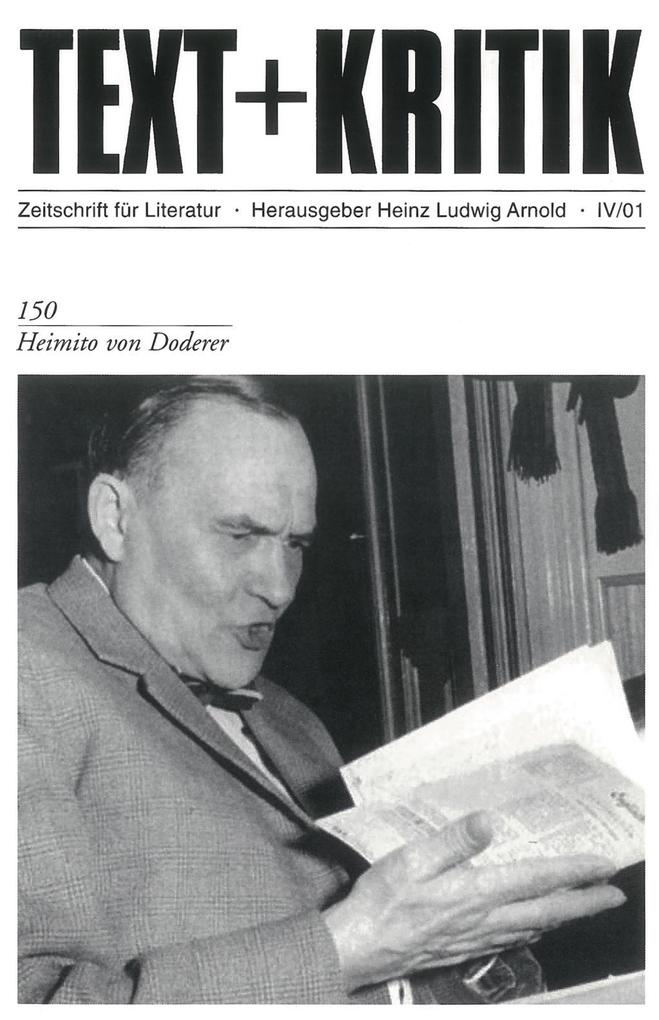 Heimito von Doderer als Buch