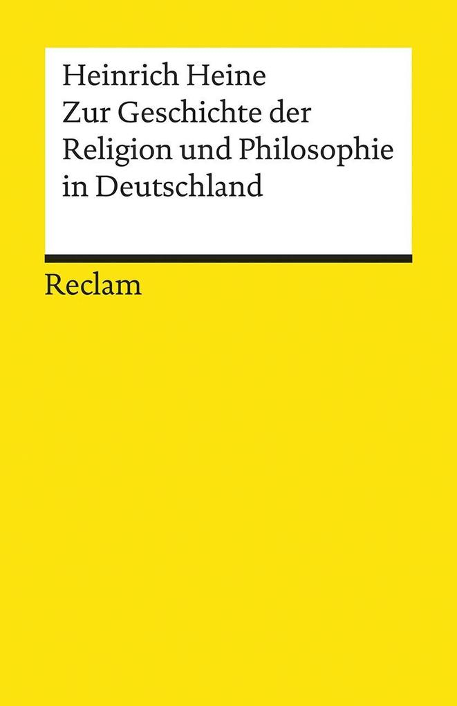 Zur Geschichte der Religion und Philosophie in Deutschland als Taschenbuch