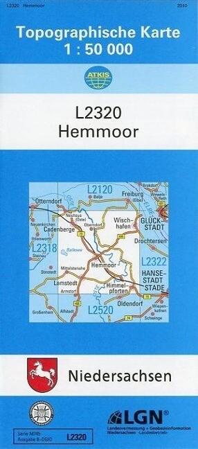 Hemmoor 1 : 50 000 als Buch