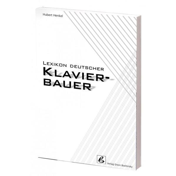 Lexikon deutscher Klavierbauer als Buch
