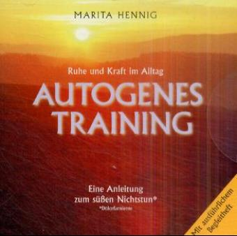 Autogenes Training. CD als Hörbuch