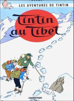Les Aventures de Tintin 20. Tintin au Tibet als Buch