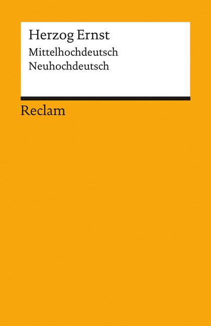 Herzog Ernst als Taschenbuch