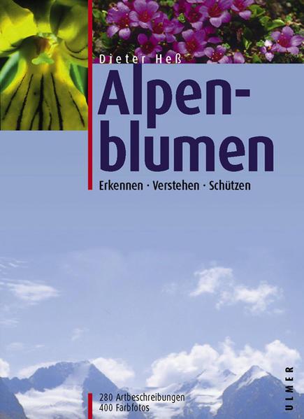 Alpenblumen als Buch
