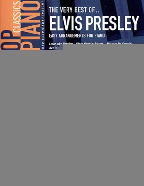 The very best of Elvis Presley als Buch