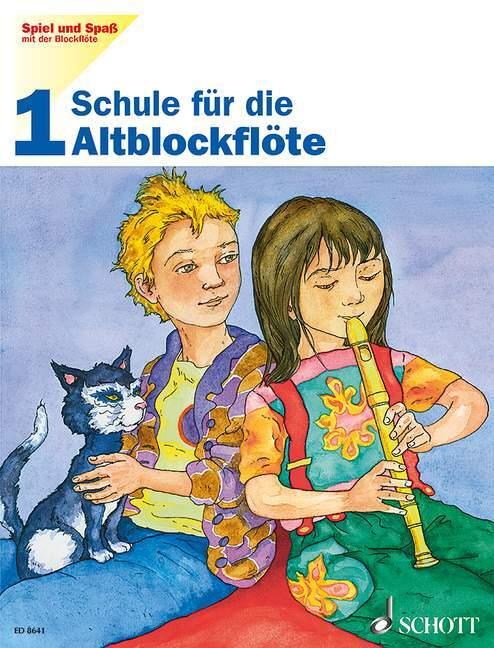 Spiel und Spaß mit der Blockflöte 1 als Buch