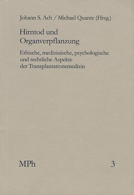 Hirntod und Organverpflanzung als Buch