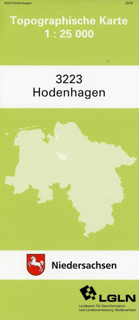 Hodenhagen 1 : 25 000. (TK 3223/N) als Buch