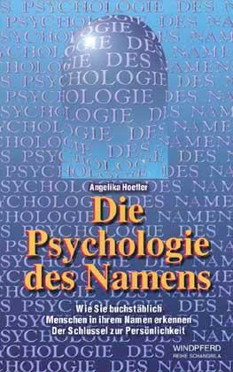 Die Psychologie des Namens als Buch