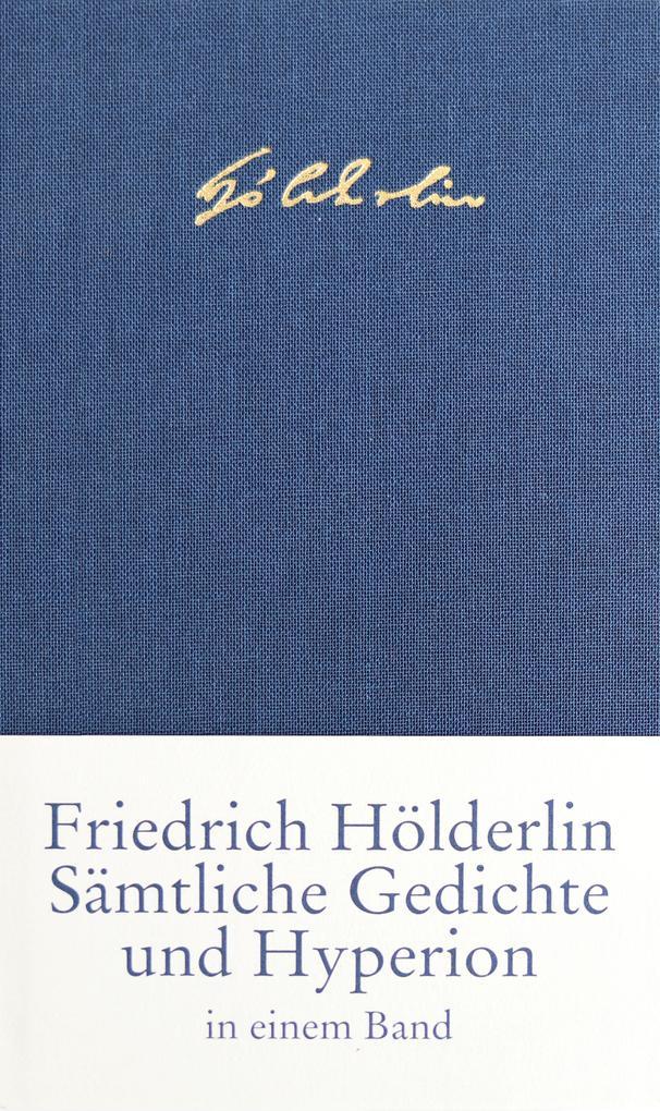 Sämtliche Gedichte und Hyperion als Buch