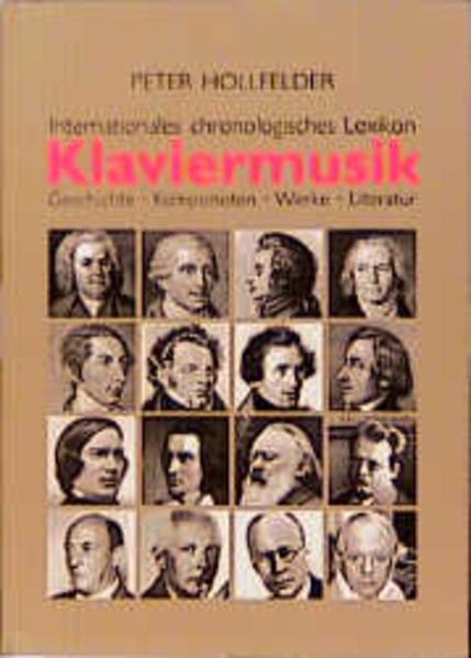 Internationales chronologisches Lexikon Klaviermusik als Buch