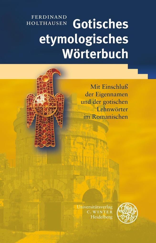 Gotisches etymologisches Wörterbuch als Buch