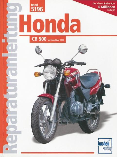 Honda CB 500 als Buch