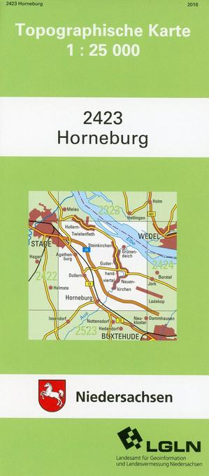Horneburg 1 : 25 000. (TK 2423/N) als Buch