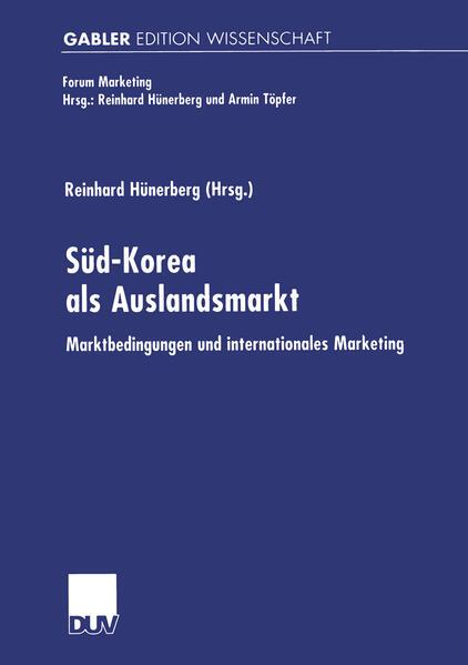 Süd-Korea als Auslandsmarkt als Buch