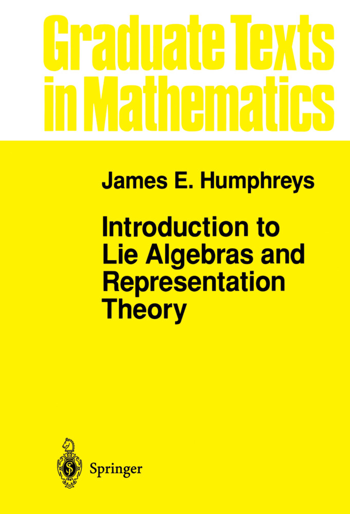 Introduction to Lie Algebras and Representation Theory als Buch