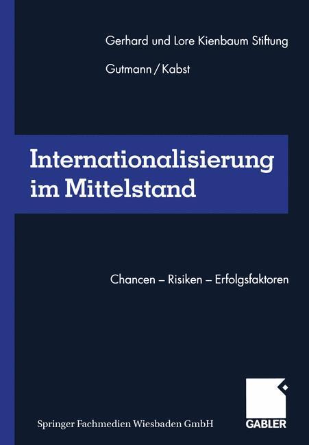 Internationalisierung im Mittelstand als Buch