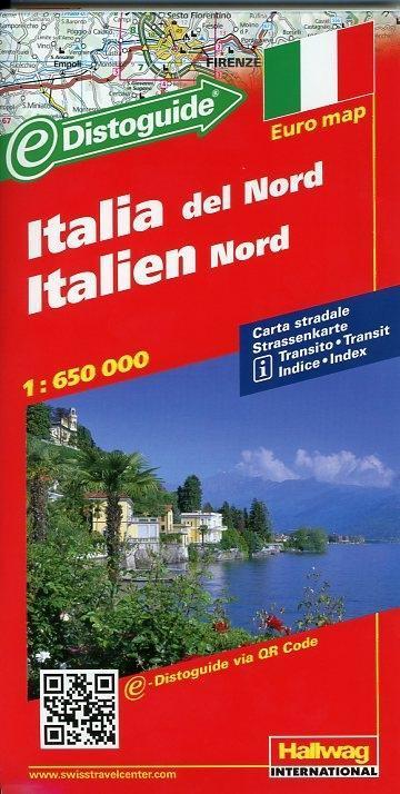 Italien Nord 1 : 650 000 als Buch