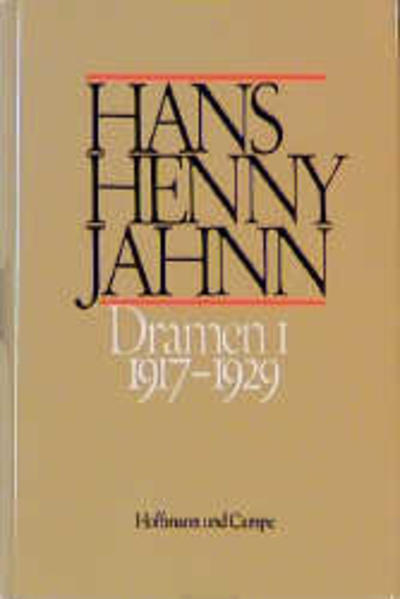Werke in Einzelbänden. Hamburger Ausgabe / Dramen I als Buch