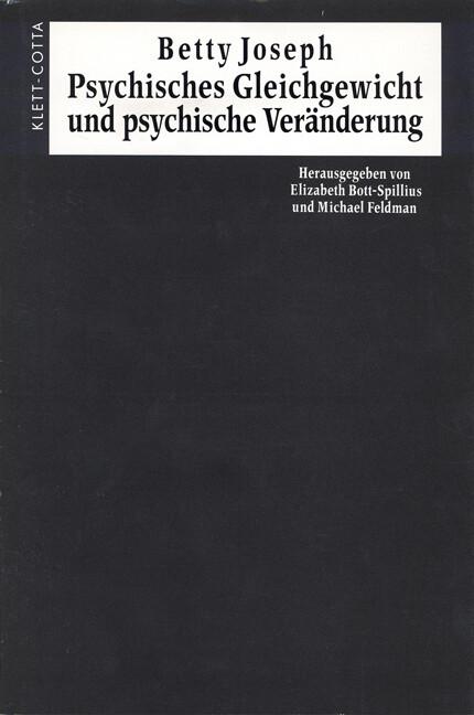 Psychisches Gleichgewicht und psychische Veränderung als Buch