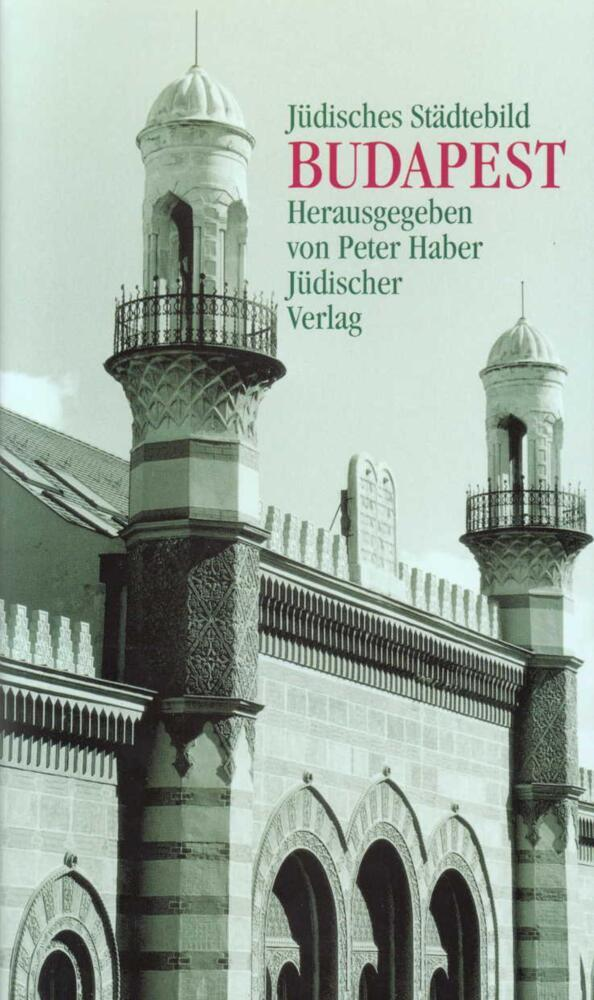 Jüdisches Städtebild Budapest als Buch
