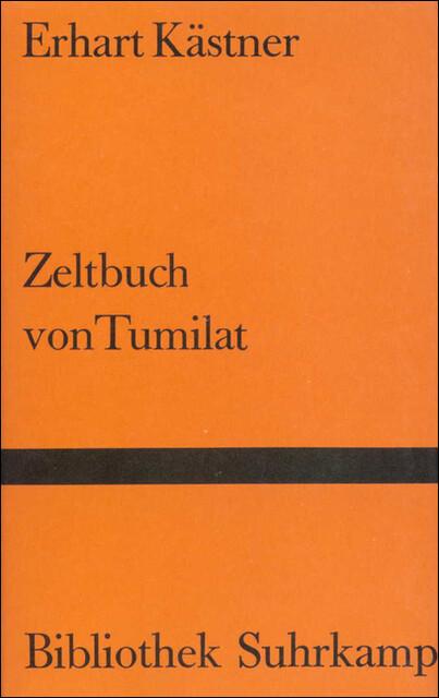 Zeltbuch von Tumilat als Buch