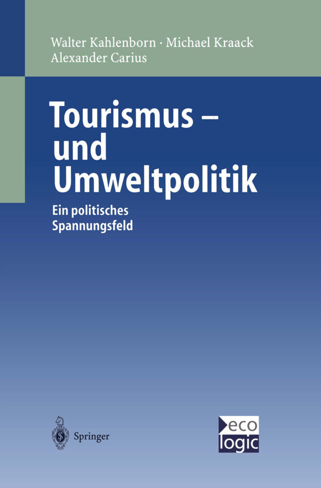 Tourismus-und Umweltpolitik als Buch