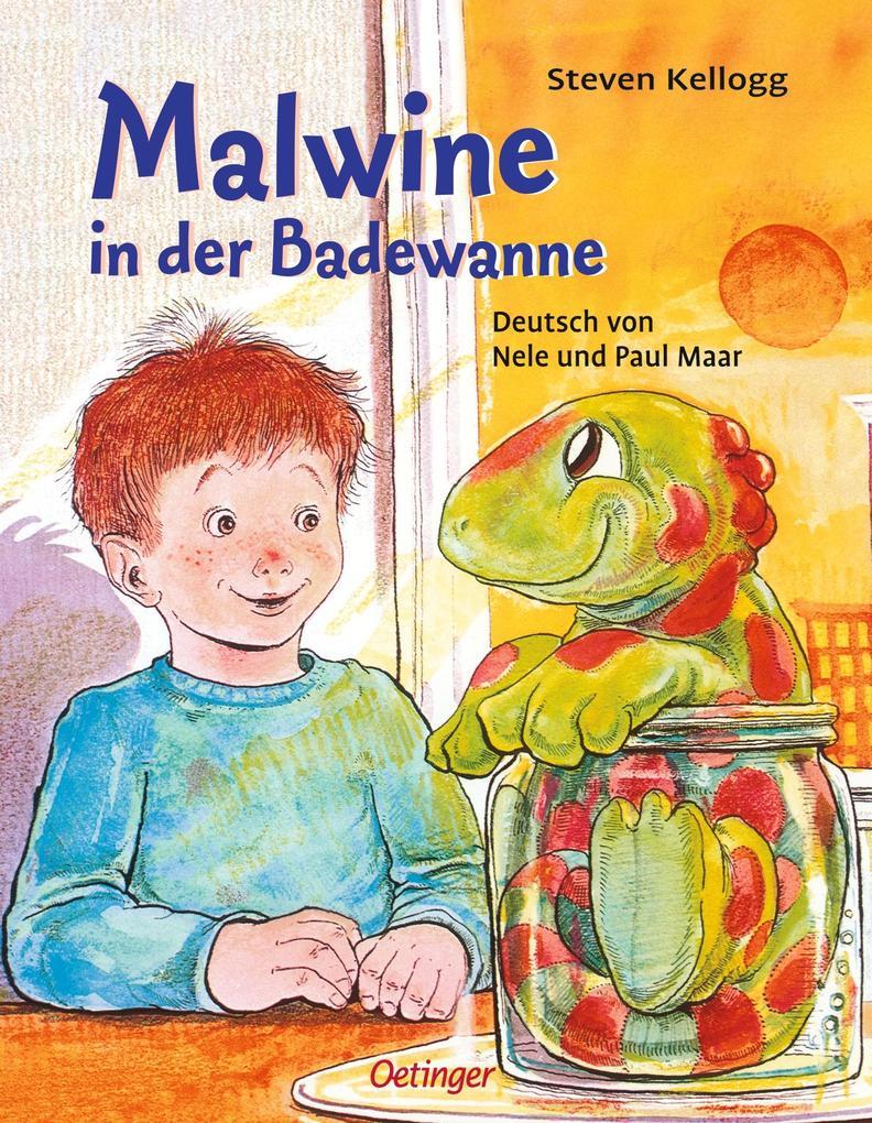 Malwine in der Badewanne als Buch