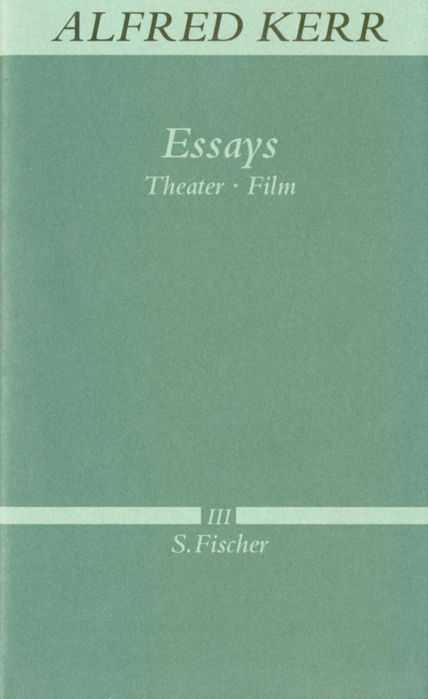 Essays als Buch