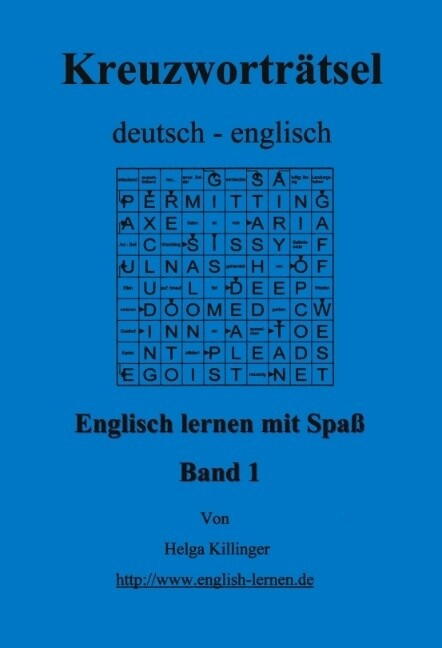 Englisch lernen mit Spaß. Kreuzworträtsel deutsch-englisch als Buch