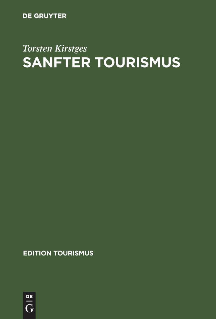 Sanfter Tourismus als Buch