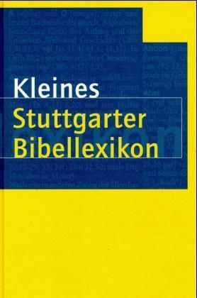 Kleines Stuttgarter Bibellexikon als Buch