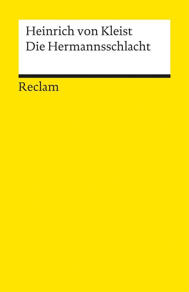 Die Hermannsschlacht als Taschenbuch