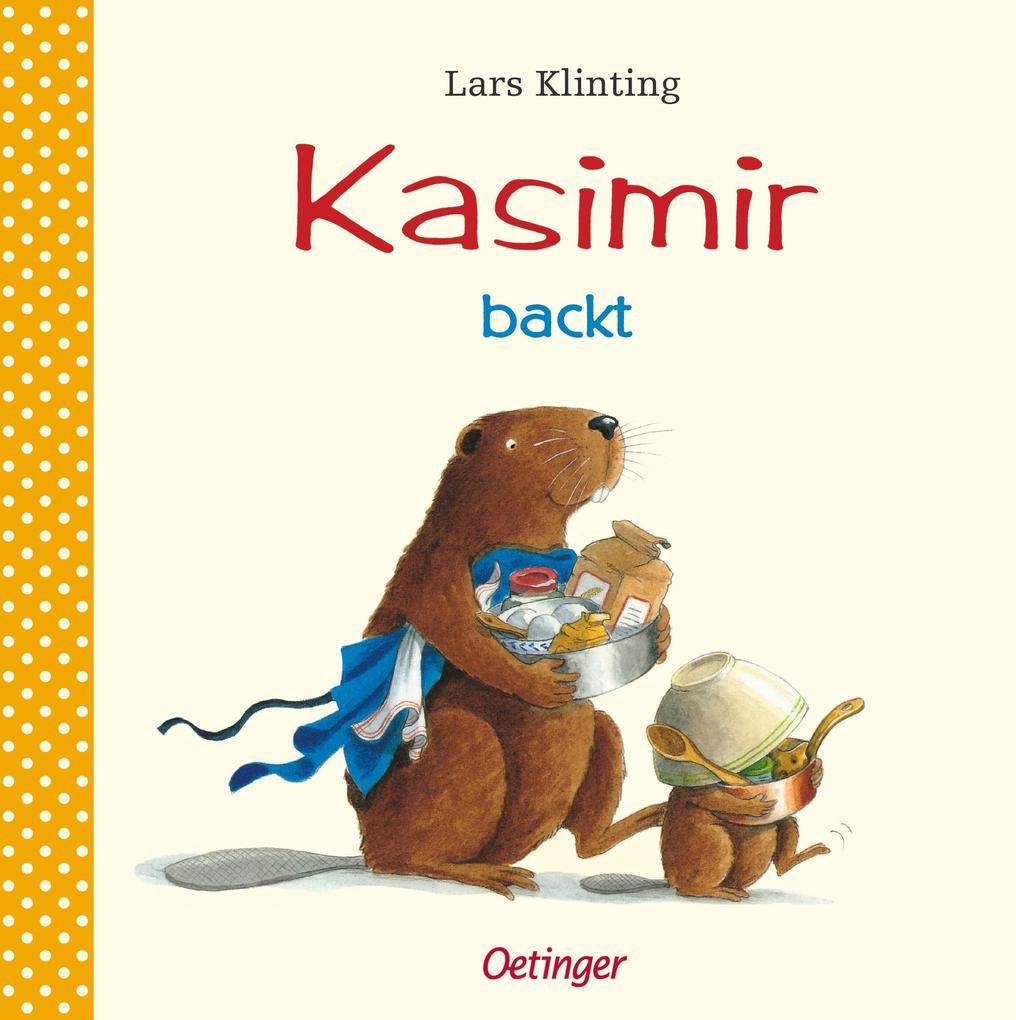 Kasimir backt als Buch