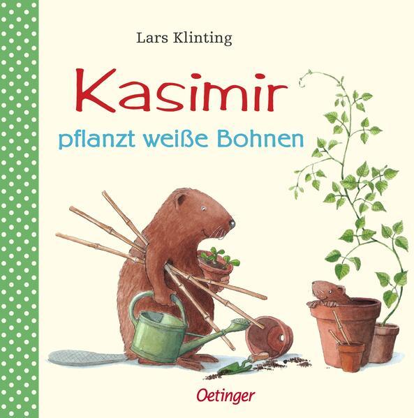 Kasimir pflanzt weiße Bohnen als Buch