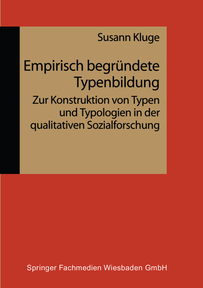 Empirisch begründete Typenbildung als Buch