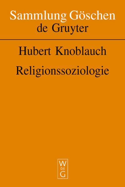 Religionssoziologie als Buch