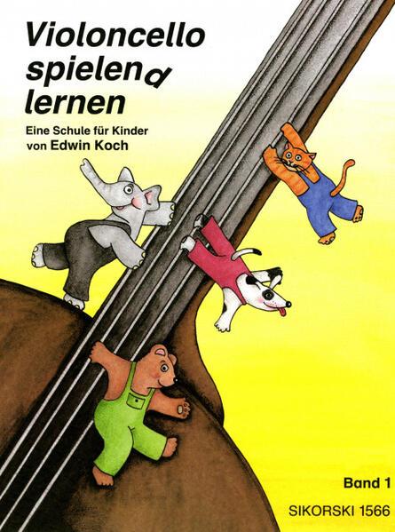 Violoncello spielen(d) lernen I als Buch