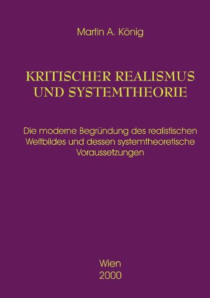 Kritischer Realismus und Systemtheorie 1.Auflage als Buch