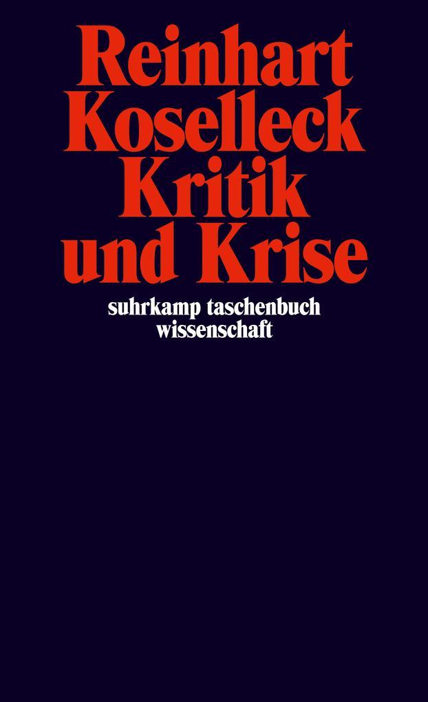 Kritik und Krise als Taschenbuch