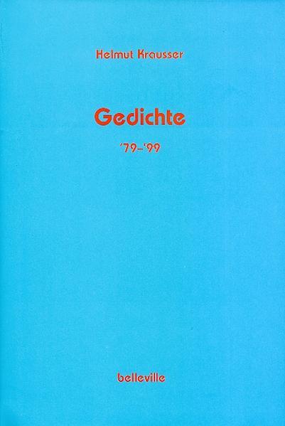 Gedichte '79 - '99 als Buch