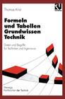 Formeln und Tabellen Grundwissen Technik
